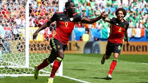 Romelu Lukaku put Belgium ahead