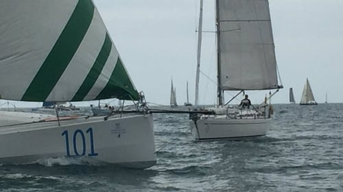 63 vessels are taking part in the race including three of the fastest trimarans in the world