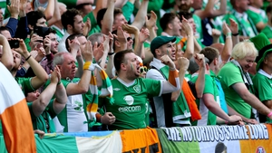 Ireland will have at least 900 fans present