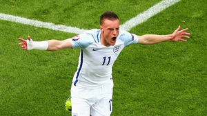 Jamie Vardy has won 11 caps for England
