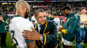Allister Coetzee: 'I wasn't happy with the work ethic in the first half. It was terrible.'