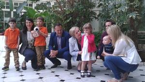 Leo Varadkar and Frances Fitzgerald made the announcement at Farmleigh House in Dublin