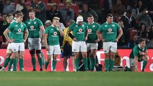 Ireland lost a 16-point lead in the last quarter in Johannesburg