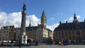 The Grand Place is the main square in Lille's Old Town