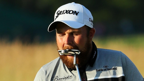 Shane Lowry's putter let him down on the final day of the major