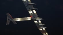 The voyage marks the first solo transatlantic crossing in a solar-powered airplane