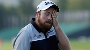 A dejected Shane Lowry at Oakmont during his disappointing final round