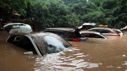 Torrential rain is forecast to continue in China over the next three days
