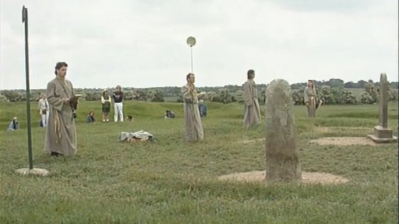 Druids Celebrate Summer Solstice