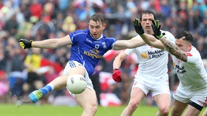David Givney bagged two goals for a resilient Cavan outfit