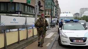 Area around Brussels shopping centre was sealed off by police