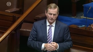 Enda Kenny's decision to allow a free vote was criticised
