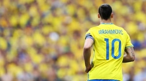 Zlatan Ibrahimovic: 'The last game (at Euro 2016) will be my last for Sweden.'
