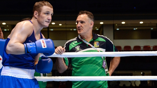 Michael O'Reilly will fight for a spot at the Olympic Games on Thursday