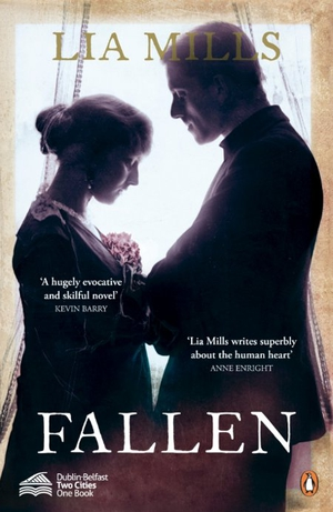 Fallen is set against momentous First World War and Easter Rising events and is the One City One Book choice this year for Dublin and Belfast.