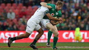 Ireland let a 16-point lead in slip in their second Test against South Africa