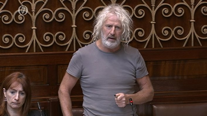 "Mick Wallace: NAMA answers ""lie in Dublin"""