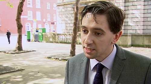 Simon Harris said the current situation is 'unacceptable'