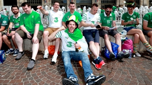 Sit down for the Boys in Green...