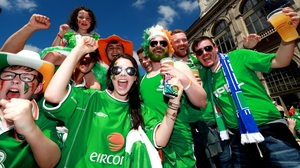 ... stand up for the Boys in Green