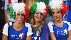 But the Italian wig game is strong...