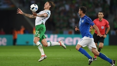 Jeff Hendrick in action against Italy at Euro 2016
