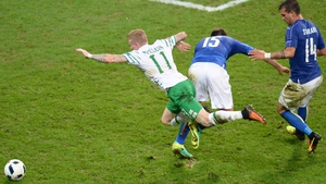 Ireland were the better team but looked to be out of luck...