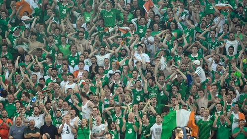 Ireland face France in Lyon on Sunday afternoon