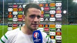 Robbie Brady Interview v Italy