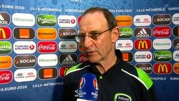 Euro 2016 Extras: Martin O'Neill interview v Italy