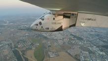 The Solar Impulse 2 approaches Spain
