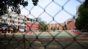 The government is investigating how school running tracks were constructed