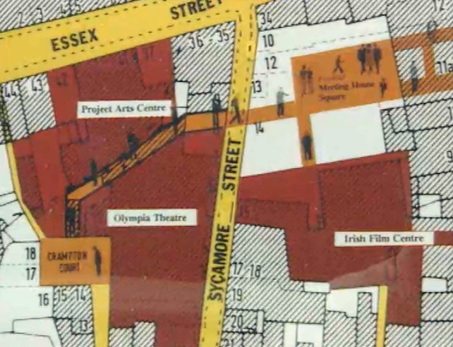 Temple Bar Map (1991)