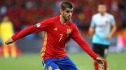 Alvaro Morata starts up front for Spain
