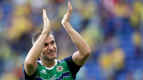 Aaron Hughes is an injury doubt for Northern Ireland