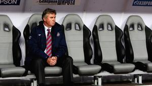 Guus Hiddink's last job was as Chelsea interim manager last season