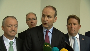 Micheál Martin has called for an urgent national plan to deal with the 'slow-motion crash'