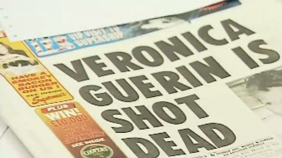Veronica Guerin Shot Dead - Newspaper