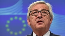 Jean-Claude Juncker gave an emphatic 'No' to a question on EU break-up