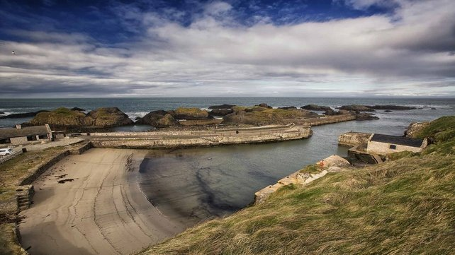 Ballintoy Harbour, Co. Antrim used for the Iron Islands