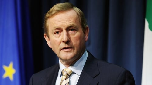 Enda Kenny has said he would not lead the Fine Gael party into the next election