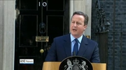 One News Web: Cameron announces resignation in wake of Brexit result