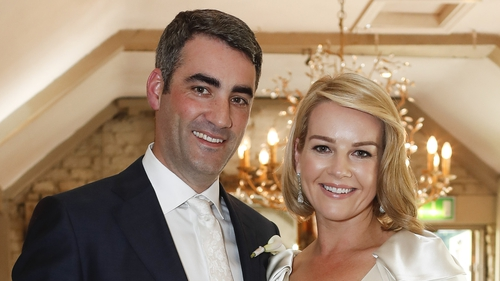 Claire Byrne and her husband Gerry