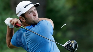 Jon Rahm is tied for top spot with Billy Hunter III