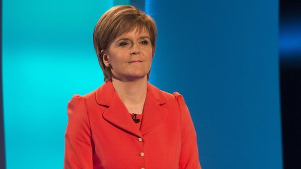 Scotland's First MinisterNicola Sturgeon calling for second independence referendum