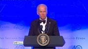Joe Biden was speaking at the Ireland Fund's 40th anniversary dinner in Dublin