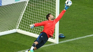 Lloris was impressed with Ireland's performance against Italy
