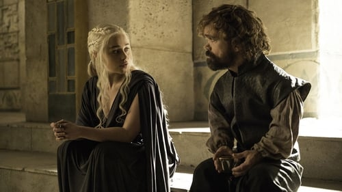 Emilia Clarke and Peter Dinklage in Game of Thrones