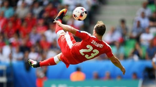 Xherdan Shaqiri stepped away from the international scene last month