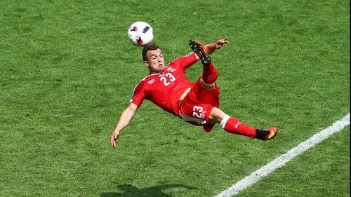 Swiss Star Shaqiri Out Of Vital Euro Clash In Dublin